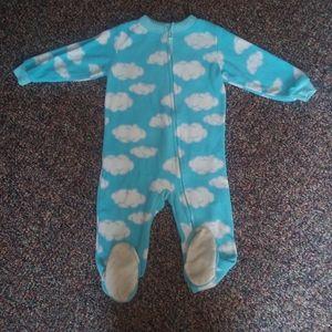Calvin Klein Clouds Footie Pajama